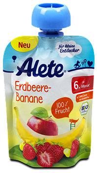 Alete Fruchtbrei Erdbeere-Banane