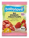 babylove Bio Erdbeer-Fruchtchips