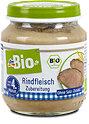 dmBio Menü Bio-Rindfleisch Zubereitung