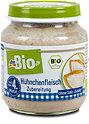 dmBio Menü Bio-Hühnchenfleisch Zubereitung