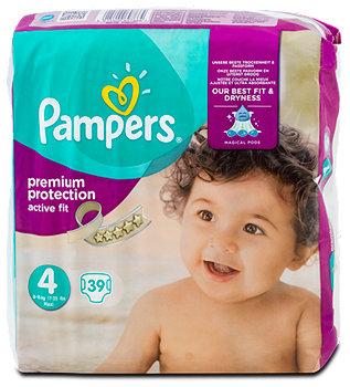 Pampers active fit Windeln Gr. 4 (8-16 kg) Value Pack