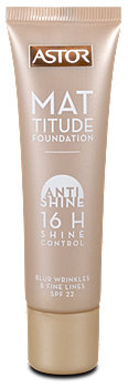 Astor Mattitude Foundation Anti Shine