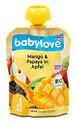 babylove Fruchtpüree Mango & Papaya in Apfel