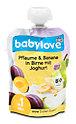 babylove Fruchtpüree Pflaume & Banane in Birne mit Joghurt