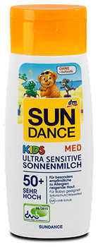 SUNDANCE Med Kids Ultra Sensitive Sonnenmilch LSF 50+