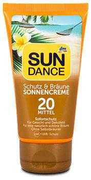 SUNDANCE Sonnencreme Schutz & Bräune LSF 20