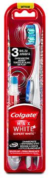 Colgate Max White Expert White Zahnbürste + Whitening Stift