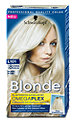 Blonde Platin Aufheller Haarfarbe