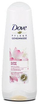 Dove Pflegegeheimnisse Glanz Ritual Spülung Reiswasser & Lotus