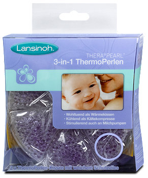 Lansinoh 3-in-1 Thermo Perlen-Kissen