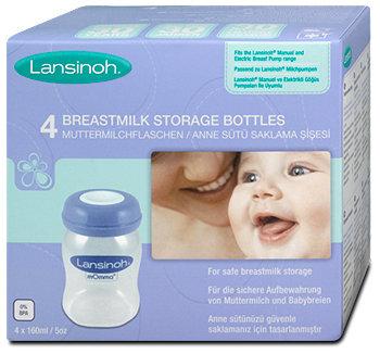 Lansinoh Muttermilchflaschen Weithalsöffnung
