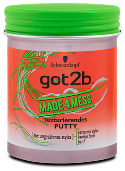 got2b Made4Mess texturierende Putty Haarwachs