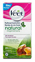 Veet natural inspirations Kaltwachsstreifen