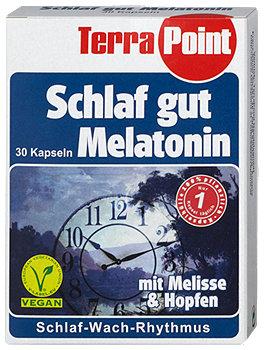 TerraPoint Schlaf gut Melantonin Kapseln