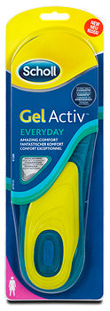 Scholl Gel Activ Everyday Einlegesohlen