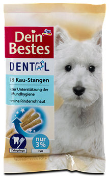 Dein Bestes Dental Hunde Kau-Stangen