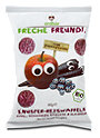 Freche Freunde Knusper-Reiswaffeln Apfel, Schwarze Karotte & Blaubeere