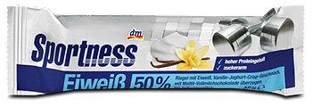 DAS gesunde PLUS Sportness Eiweißriegel Vanille-Joghurt