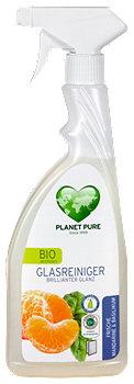 Planet Pure Bio Glas Reiniger Mandarine & Basilikum