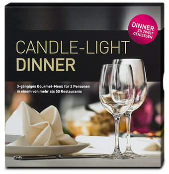 Candle-Light Dinner für 2