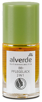 alverde BB-Pflegelack 2in1