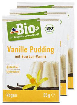 dmBio Vanille Pudding mit Bourbon-Vanille