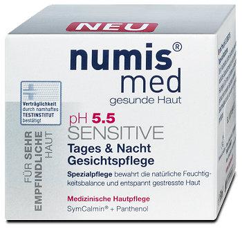 numis med pH 5.5 Sensitive Tages & Nacht Gesichtspflege