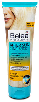 Balea 2in1 Professional After Sun Shampoo + Spülung