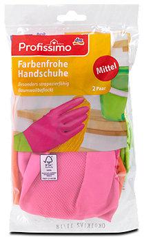 Profissimo Farbenfrohe Handschuhe Mittel