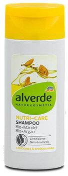 alverde Nutri-Care-Shampoo Bio-Mandel Bio-Argan