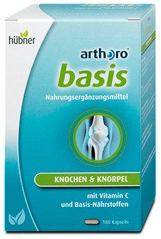 hübner arthoro basis Nährstoffe Knochen & Knorpel Kapseln