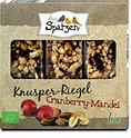 drei Spatzen Knusper-Riegel Cranberry-Mandel