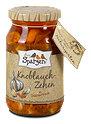 drei Spatzen bio Knoblauch-Zehen in Chilimarinade