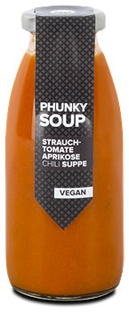 Phunky Monkey Suppe Strauchtomate Aprikose Chili