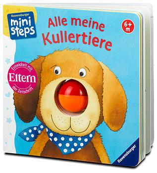 Ravensburger ministeps Babybuch Alle meine Kullertiere