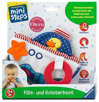 Ravensburger mini steps Fühl- und Knisterboot