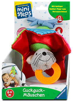 Ravensburger mini steps Kinderspielzeug Guckguck-Mäuschen