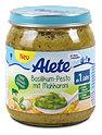 Alete Menü Basilikum-Pesto mit Makkaroni