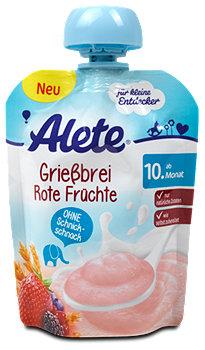 Alete Grießbrei Rote Früchte