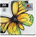 Fasana Servietten Schmetterling