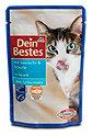 Dein Bestes Katzenfutter Seelachs & Scholle in Sauce