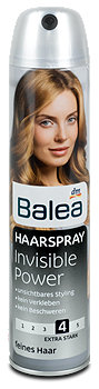 Balea Haarspray Invisible Power