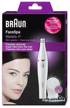 Braun FaceSpa Mini Epilierer + Reinigungsbürste
