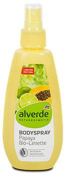 alverde Bodyspray Papaya Bio-Limette