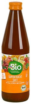 dmBio Superfrucht Saft mit Goji, Acerola und Sanddorn