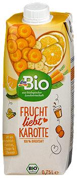 dmBio Frucht- und Gemüsesaft