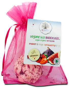 Ecoworld vegane bio Badekugel