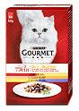Gourmet mon Petit Katzenfutter Duetti mit Fleisch