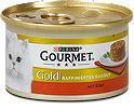 Gourmet Gold Raffiniertes Ragout Katzenfutter mit Rind