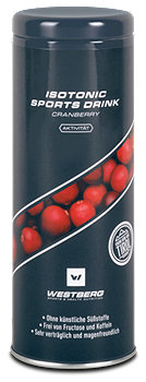 Westberg Isotonic Sports Drink Cranberry